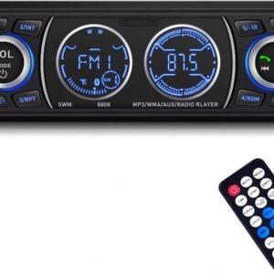 Dieux® Autoradio met Bluetooth