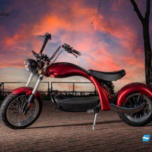 E-scooter 45 km/h 2000Watt 60v bereik/radius 40-45km