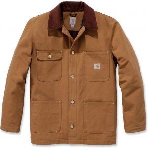 Carhartt Firm Duck Chore Coat Jas, bruin, afmeting 2XL