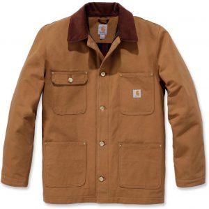 Carhartt Firm Duck Chore Coat Jas, bruin, afmeting XL