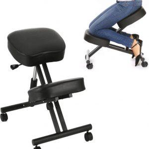 Ergonomische rug ondersteuning bureaustoel | kniestoel - kneeling chair - ergonomisch rugsteun - kantoor