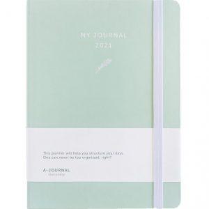 My Journal Jaaragenda 2021 - Mintgroen