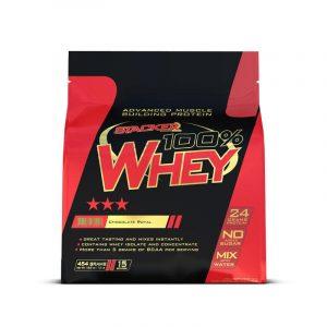 100% Whey - Stacker 2 • 454 / 908 / 2000 gram • Eiwit &