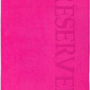 Heerlijk Zachte Velours Strandlaken XL Fuchsia | 100x180 | Droogt Snel | Trendy En Luxe