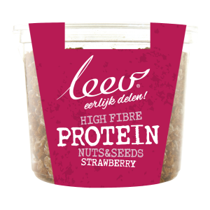 Leev Cup Protein Nuts & Seeds Strawberry