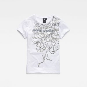 G-Star RAW Meisjes T-shirt Wit