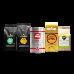 Koffiebonen proefpakket verfijnd