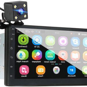 Autoradio mp5 speler 18 centimeter Touchscreen met Achteruitcamera twee Din