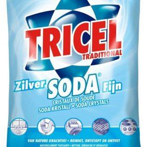 12x Tricel Zilver Soda Fijn 1 kg