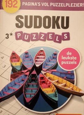 Denksport | Puzzelboek | Denksport puzzelboekjes | Sudoku | Puzzelboekjes | Sudoku denksport | Sudoku denksport puzzelboeken volwassenen denksport | sudoko denksport | sudoku puzzelboek denksport | puzzels nederlands | 3* 192 puzzels extra dik!