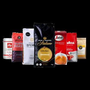 Proefpakket koffiebonen - huisfavorieten Qualità Classica - 5.5kg