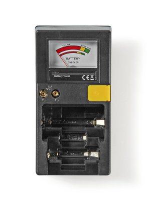 Batterij tester voor AAA, AA, C, D en 9V