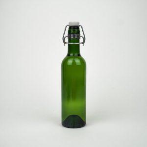 Rebottled Drinkfles Groen - 375ml - Duurzaam
