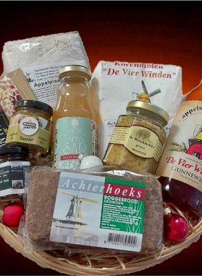 (H)eerlijk rondje Achterhoek streekproducten Kerstpakket   kerst   cadeau / kado   pakket   relatiegeschenk