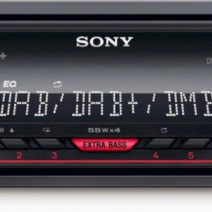 Sony DSX-A310DAB - Enkel din autoradio met DAB+